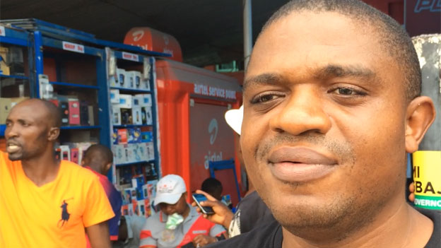 Donatus Ezeji, IT specialist, Lagos