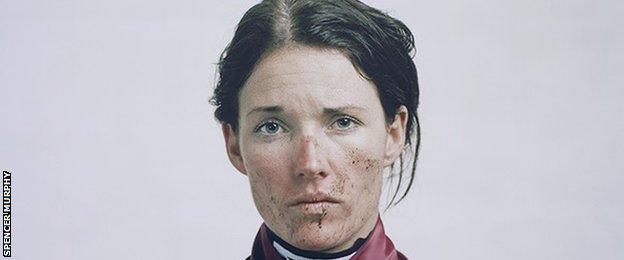 Spencer Murphy's portrait of jockey Katie Walsh
