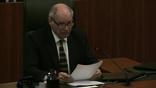 Judge reads out ruling in Supreme Court