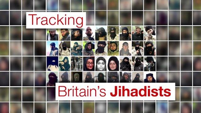 Tracking Britain's Jihadists graphic