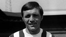 Jeff Astle, the former West Bromwich Albion striker