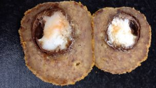 chocolate scotch egg