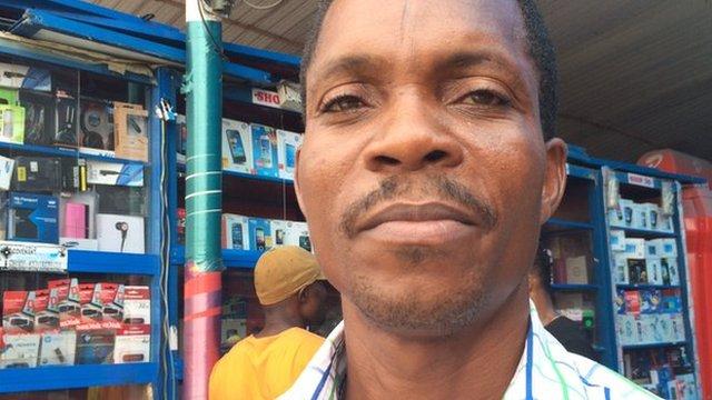 Okocha Jude, businessman in Lagos, Nigeria
