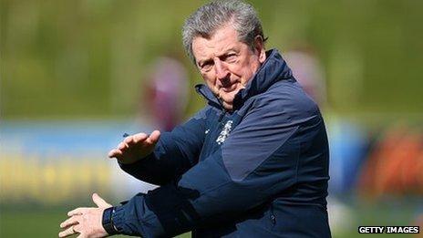 England football team manager Roy Hodgson