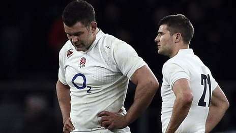 England's Nick Easter (left) and Richard Wigglesworth