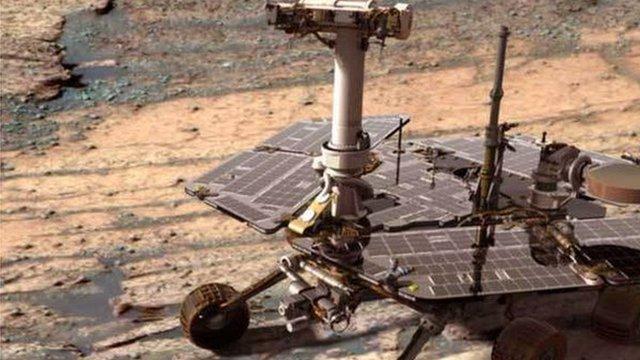 mars opportunity rover bbc - photo #6