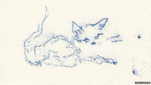 Super Lovin Cat by Tracey Emin