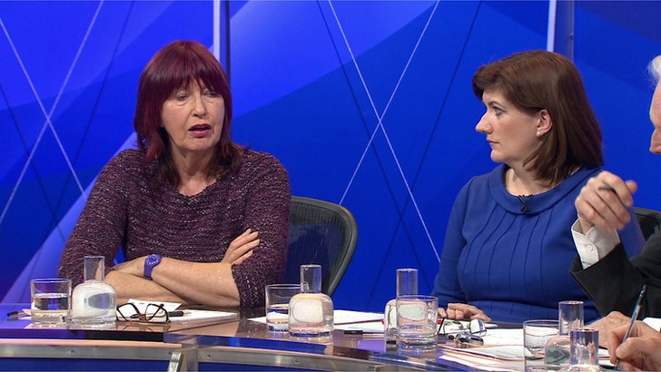 Janet Street Porter on Question Time