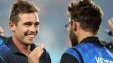 New Zealand's Tim Southee and Daniel Vettori