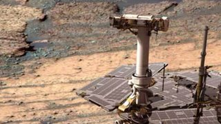 BBC News - Nasa's Opportunity rover completes marathon on Mars