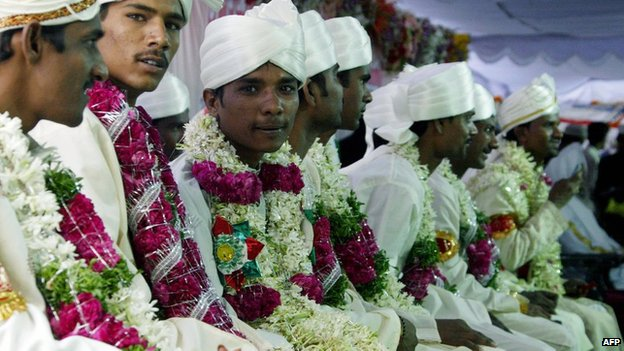 Indian grooms