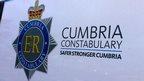 Cumbria Police van badge