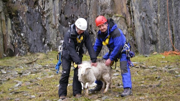 LLanberis rescue