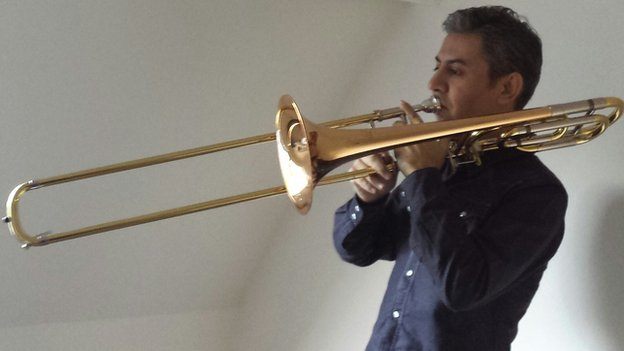 Imad and the trombone