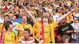 Newport County fans