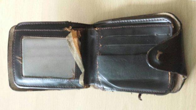 Eyad and his wallet