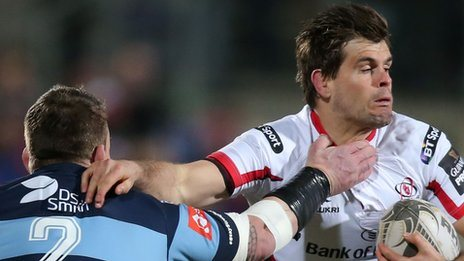Louis Ludik in action for Ulster