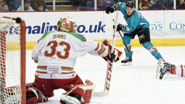 UK: Elite League Play-offs - Belfast Giants 1-0 Cardiff Devils