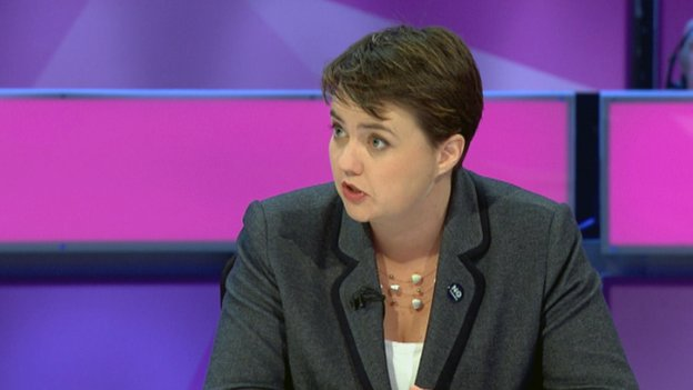 Scottish Tory leader Ruth Davidson said the nationalists were stoking division