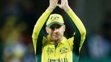 Michael Clarke waves to the crowd