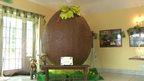 Giant chocolate egg