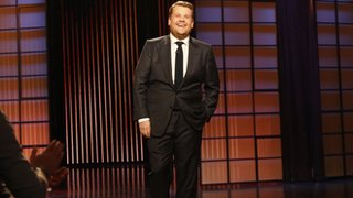 BBC News - James Corden hails 'overwhelming' US chat show reaction