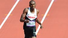 Daundre Barnaby at the London Olympics