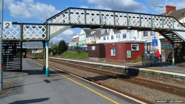 Burry Port station
