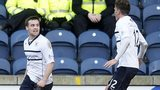 Raith Rovers players celebrating