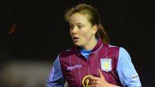 Aston Villa's Alicia Robinson