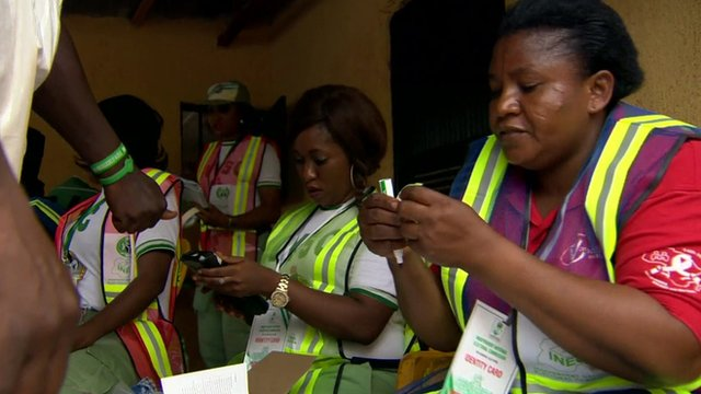 VIDEO: Nigeria votes in presidential poll...