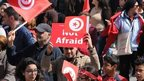 Protest in Tunis, 29 March