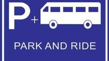 Park and ride signpost