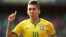 Brazil striker Roberto Firmino