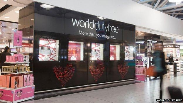 World duty free shop