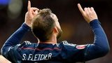 Steven Fletcher hit a hat-trick, the first for Scotland since Colin Stein in 1969
