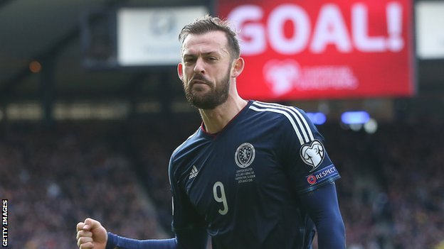 Steven Fletcher scored a hat-trick for Scotland as they moved onto 10 points in Group D