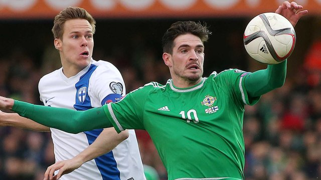 Kyle Lafferty made it five goals in five Euro 2014 qualifiers