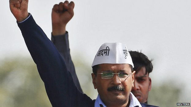 Mr Kejriwal has promised to give corruption-free governance in Delhi
