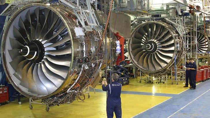 Trent 1000 engine