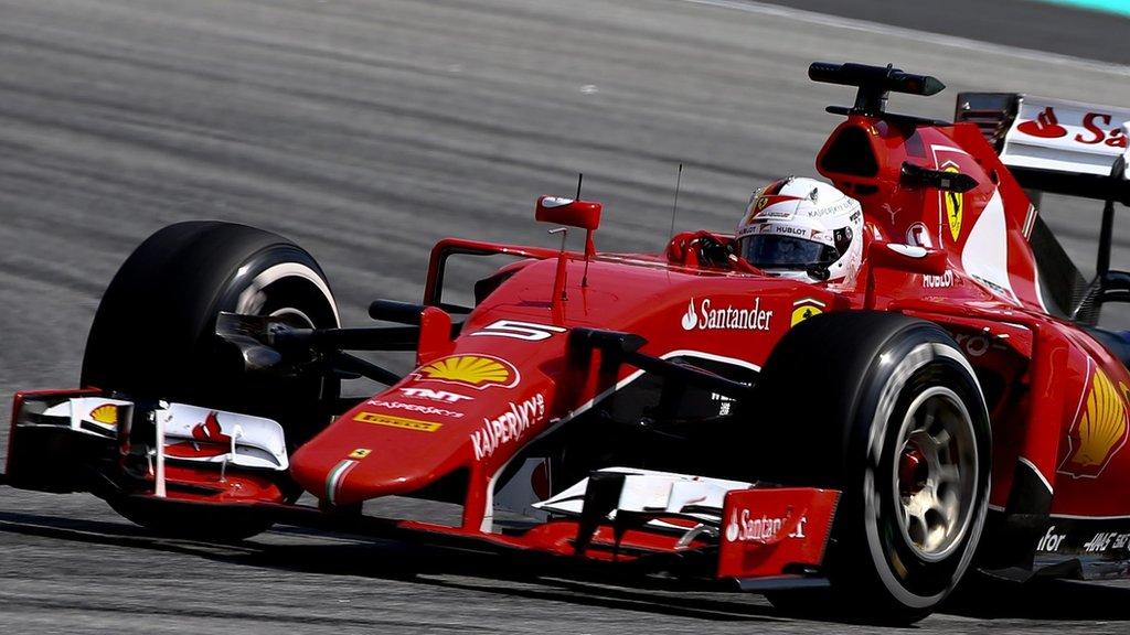 Sebastian Vettel beats Lewis Hamilton to shock Malaysia ...