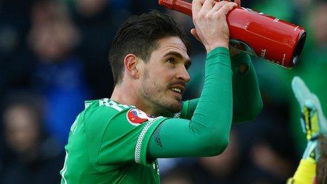 Kyle Lafferty has scored 14 goals for Northern Ireland