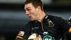 George North in action for Northampton