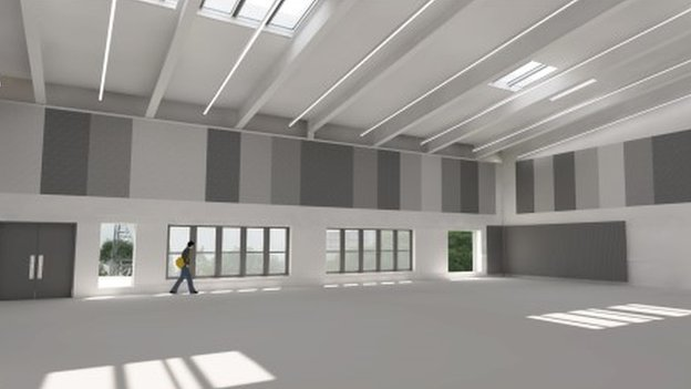 Image of the new NTS headquarters