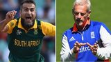 Imran Tahir and Peter Moores