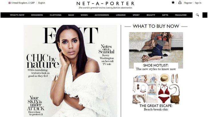 Net-a-Porter website