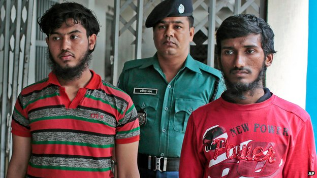 Suspects in attack on blogger Washiqur Rahman