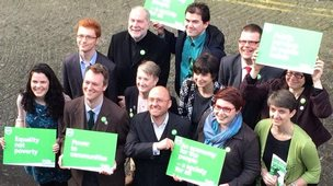 Scottish Green Party manifesto launch