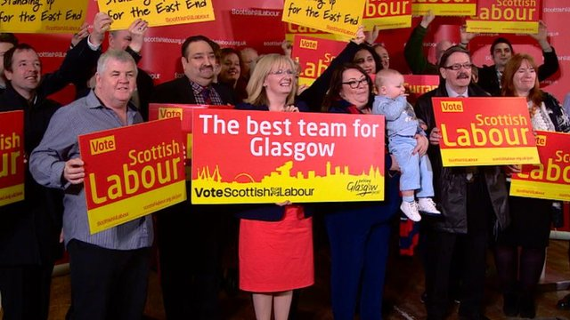 Scottish Labour, day one of campaign
