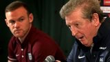 Roy Hodgson and Wayne Rooney
